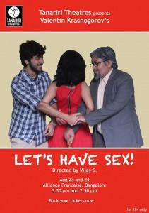 Bangalore-Lets have sex!
